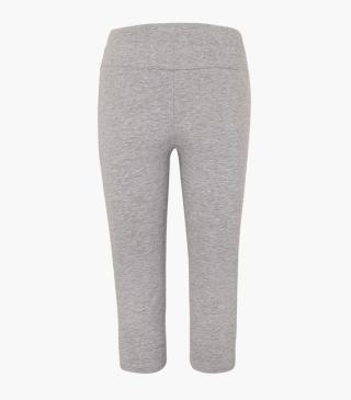 Grey capri leggings.