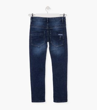 Skinny trousers crafted from denim.