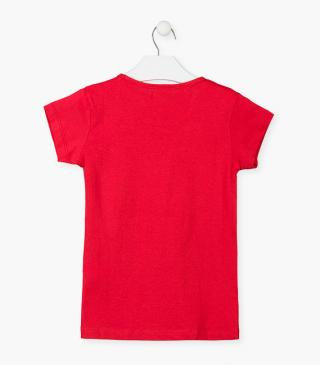 Red cotton top.