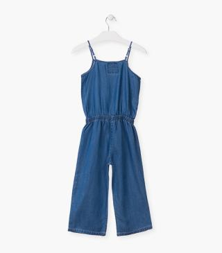Lightweight denim overall.