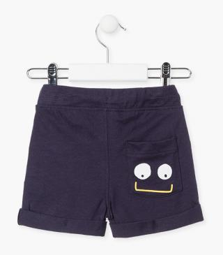 Roll-up cuff shorts.