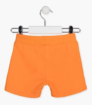 Plush shorts with pockets.