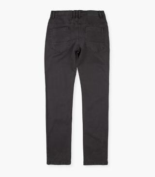 Cigarette pants crafted from twill.
