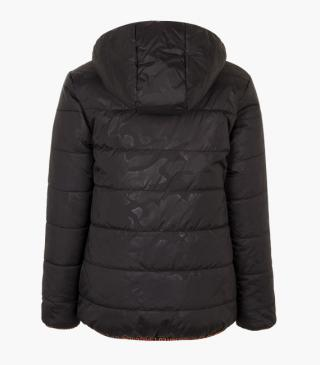 Reversible quilted jacket.