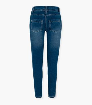 Jeggings di felpa jeans.