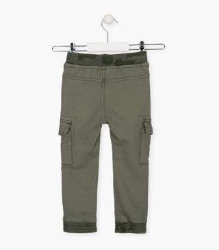 Skinny trousers with leg pockets.