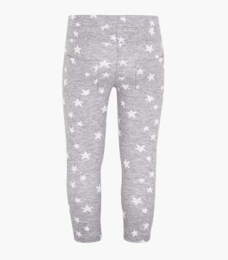 Starry jacquard leggings.