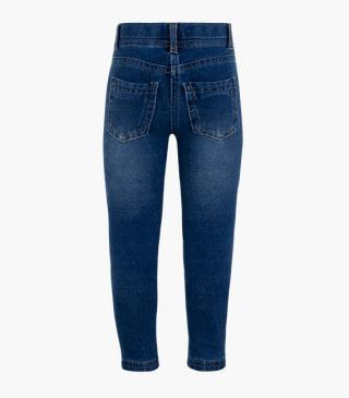 Mock-denim French terry leggings.