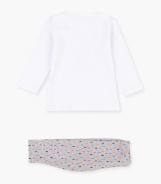 Hedgehog t-shirt & leggings set.
