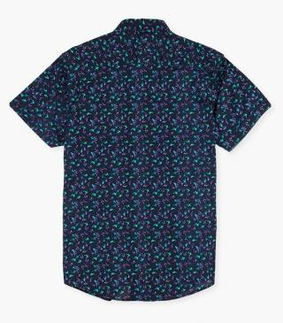 Cotton shirt with print.