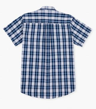 Check shirt in a cotton blend.