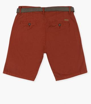 Shorts with belt.
