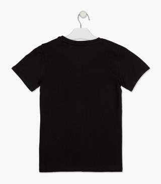 Short sleeve t-shirt with car.