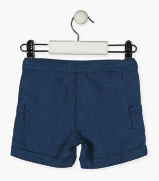 Cotton shorts with pockets.