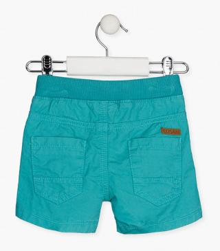 Twill shorts with elasticated waistband.