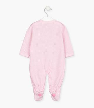 Sleepsuit 2-pack in a cotton fabric.