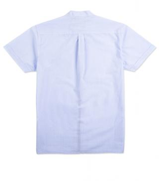 Stripe print shirt in cotton with a chest pocket.