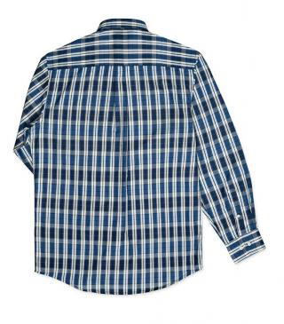 Check polyester-cotton shirt.