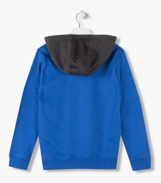 Sweatshirt with side pockets.