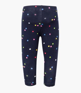 Multicolour dot leggings.