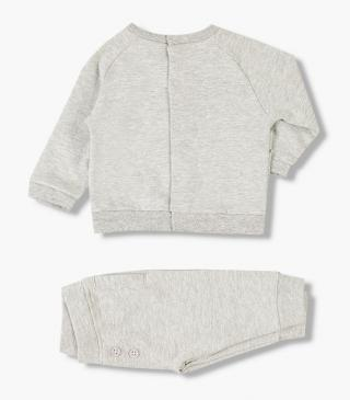 Bear sweatshirt & trousers set.