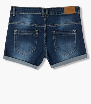 Denim shorts from our essential collection for woman