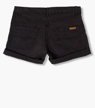 Twill shorts from Losan's essential collection for woman