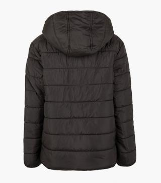 Detachable hood jacket from our line of everyday essentials for junior boy