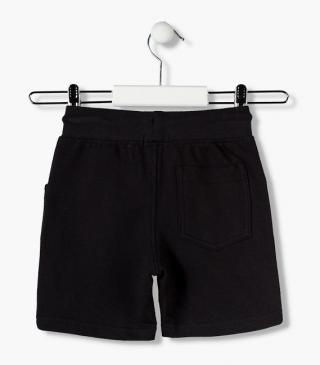 Plush shorts from the essential collection for junior boy