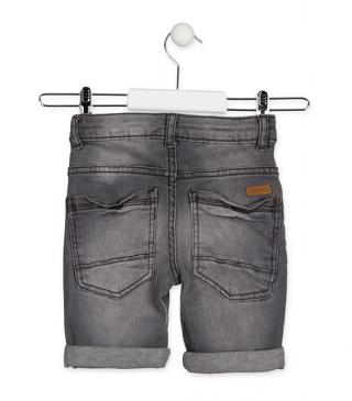Essential collection shorts in denim for junior boy
