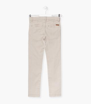 Cotton chino trousers from our range of everyday essentials for junior boy