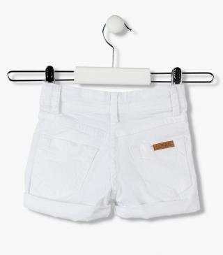 Twill shorts in different sizes for girl