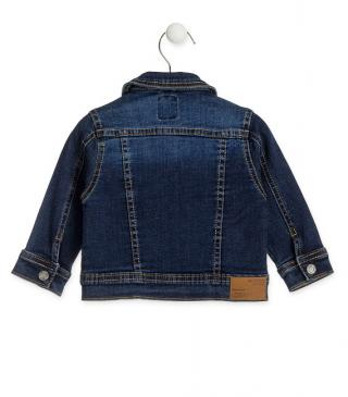 Essential collection jacket in denim for baby boy