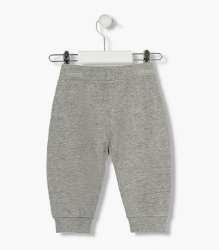 Plush drawstring trousers from our range of everyday essentials for baby boy
