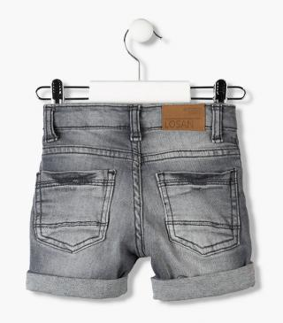 Denim shorts in assorted colours for baby boy