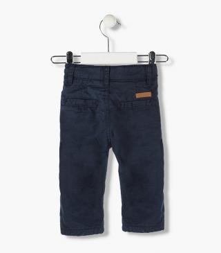 Lined skinny trousers in twill from our range of everyday essentials for baby boy