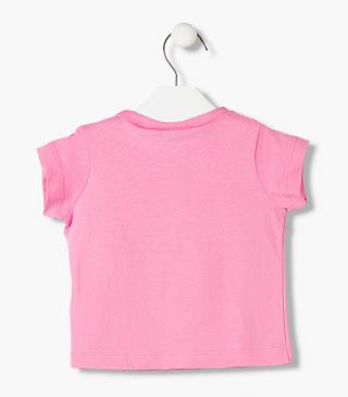 Single jersey t-shirt from the essential collection for baby girl
