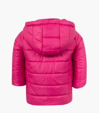 Hooded jacket from our range of everyday essentials for baby girl