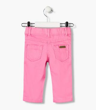 Essential collection satin denim jeggings for baby girl