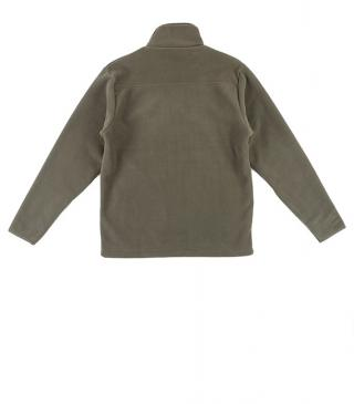 Basic khaki fleece jacket.