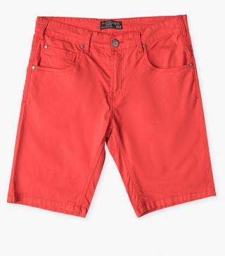 Watermelon red shorts.