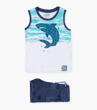 Shorts & shark tank set.