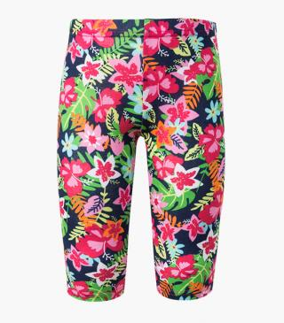 All-over floral print leggings.