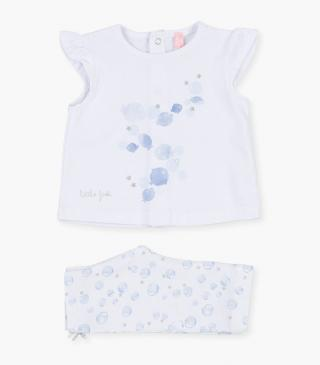 Fish design top & leggings set.