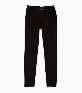 Stretch twill trousers.