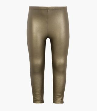 Pleather leggings with plush lining.