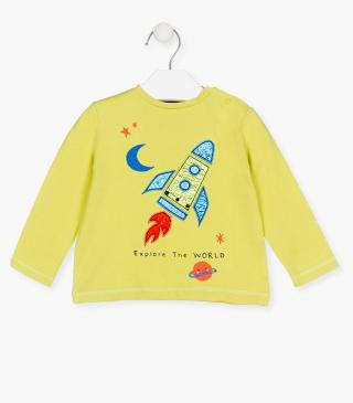 Rocket patch t-shirt.