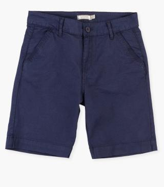 Stretchy cotton shorts.