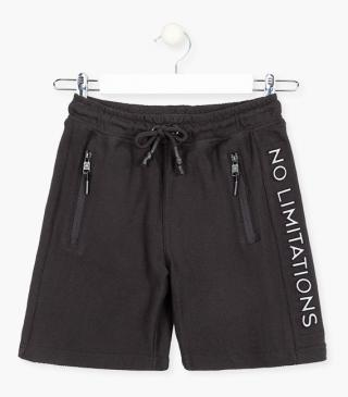 Relief graphic side shorts.