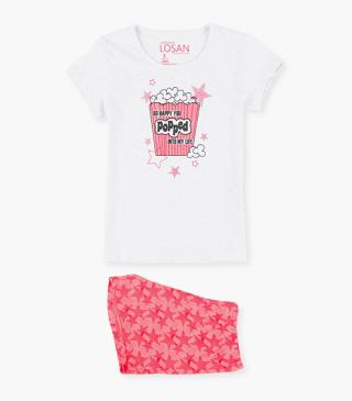 Star short sleeve PJs.